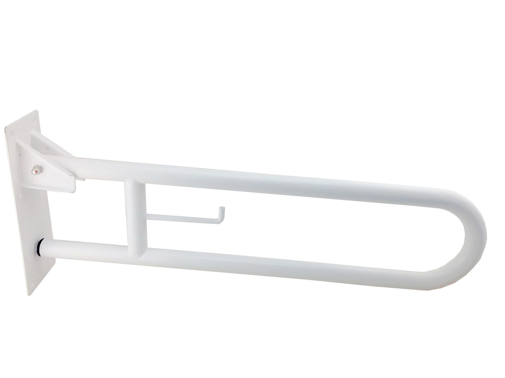 Barre de redressement pliable avec support de rouleau papier