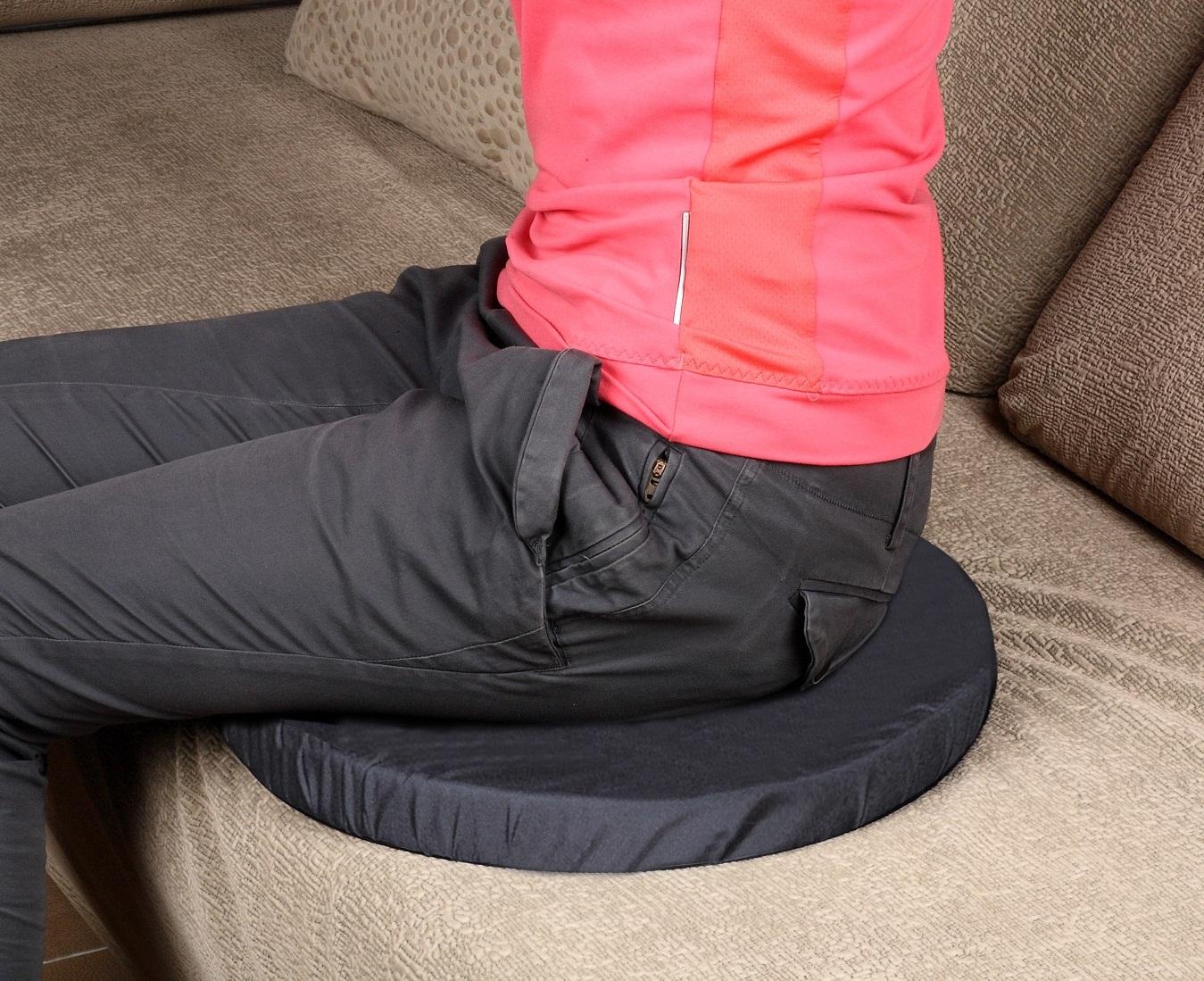 Coussin pivotant 360 degrés canapé