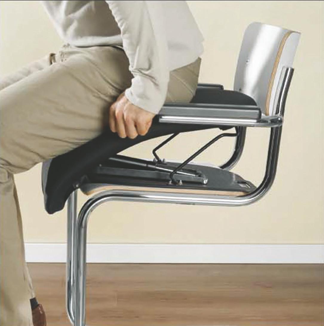 Coussin permettant de se relever facilement de sa chaise