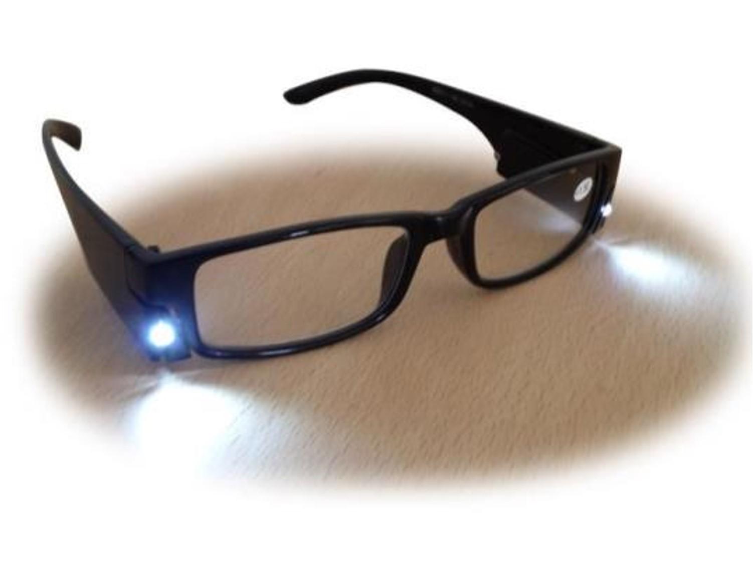 lunettes loupe avec led incorporée