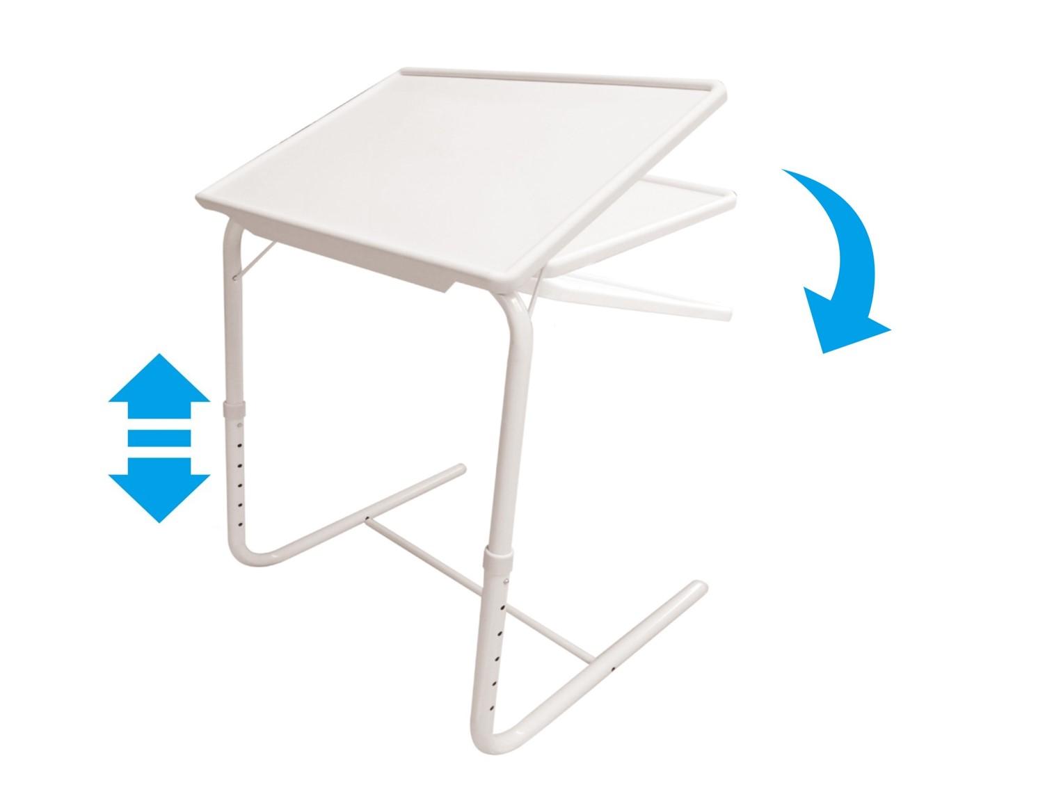 Table d'appoint ajustable en hauteur